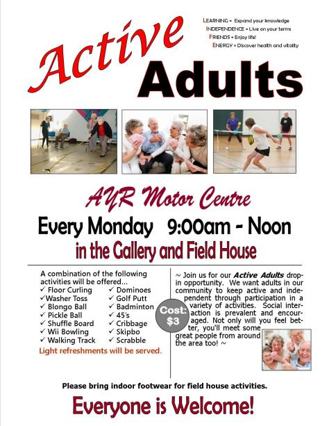 active-adults-poster