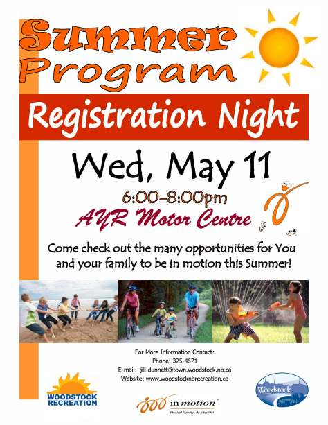 Registration Night Poster