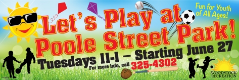 let's play at poole street