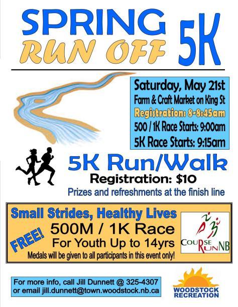 Spring Run-off 5k
