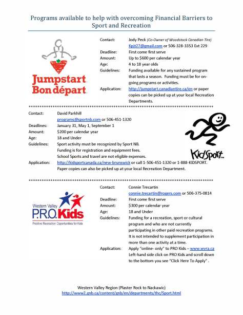 One Pager for CTJS-Kidsport-Pro Kids