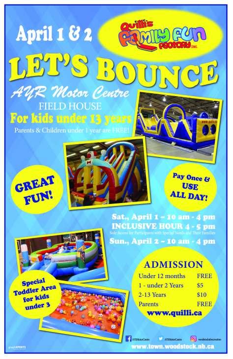 Let's Bounce -April